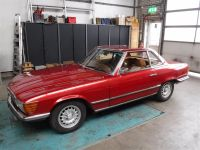 1972 Mercedes, 350SL chassis 000736