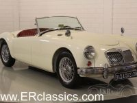 1959 MG, A cabriolet 1959 Old English White