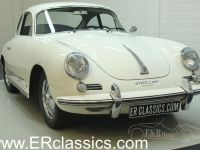 1962 Porsche, 356 B T6 1962 Coupe Elfenbein in very good condition