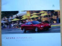 "Acura 1998 Integra catalog brochure 24 pg. 12"" x 12"""