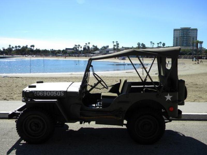 1945 willys jeep vendre annonces voitures anciennes de. Black Bedroom Furniture Sets. Home Design Ideas