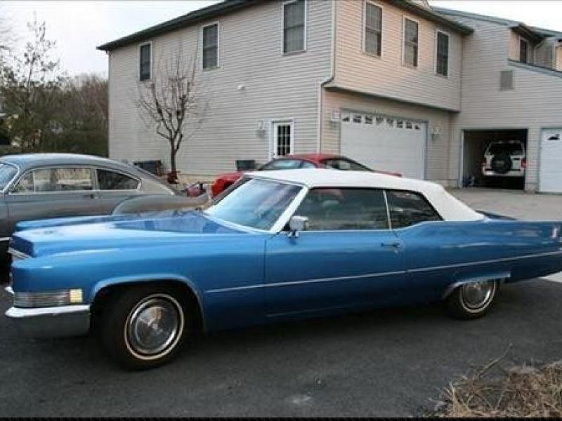 1970 cadillac coupe deville vendre annonces voitures anciennes de. Black Bedroom Furniture Sets. Home Design Ideas