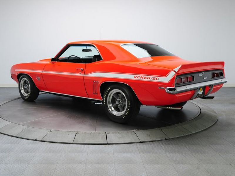 1969 chevrolet camaro yenko for sale classic car ad from. Black Bedroom Furniture Sets. Home Design Ideas