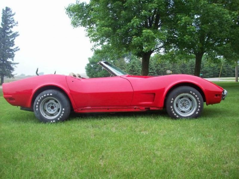 1973 chevrolet corvette for sale classic car ad from. Black Bedroom Furniture Sets. Home Design Ideas