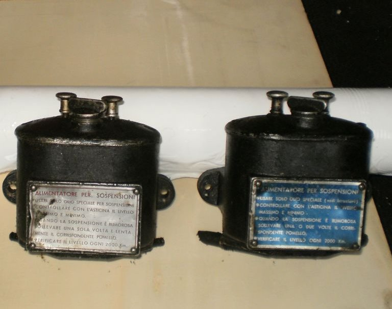 power supply for suspensions x Lancia