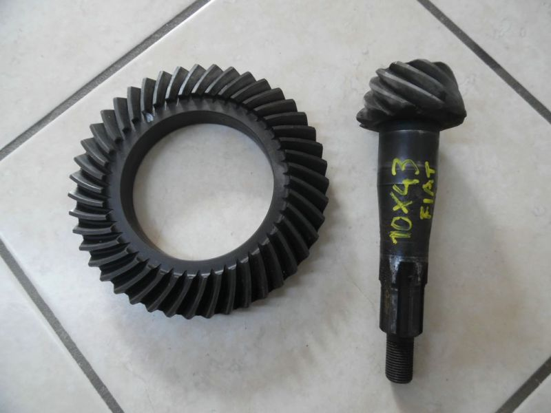 CROWN WHEEL&PINION 10X43 FIAT 124 USED