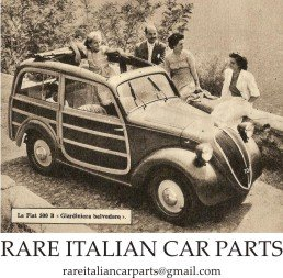 RARE ITALIAN CAR PARTS   NEW - USED - RE