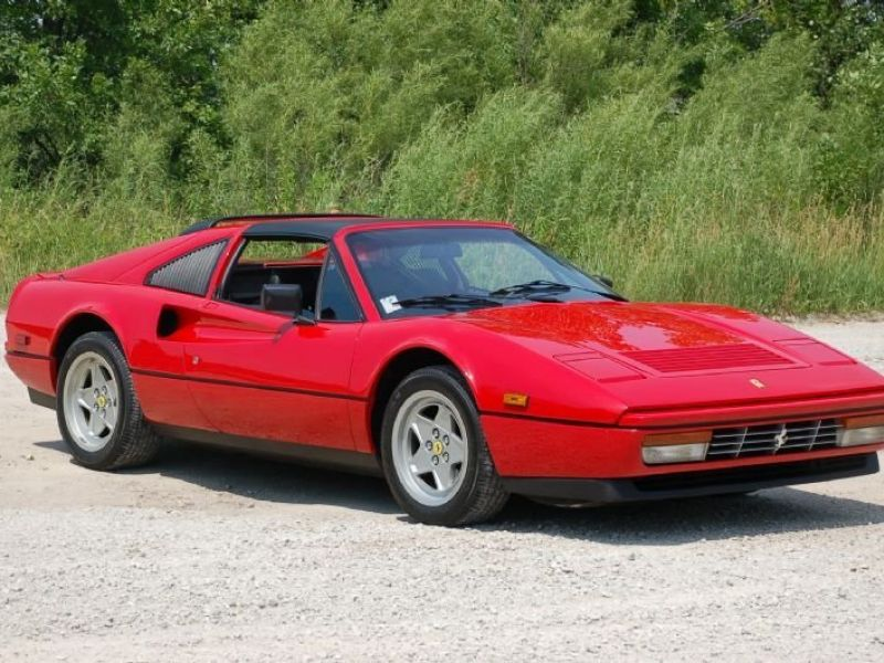1986 ferrari 328 gts vendre annonces voitures anciennes de. Black Bedroom Furniture Sets. Home Design Ideas