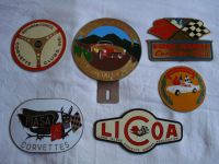 Corvette badge collection